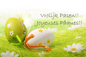 """Résultat de recherche d'images pour """"joyeuses pâques vrolijke pasen"""""""
